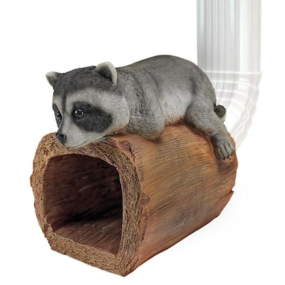 Design Toscano Raider The Raccoon Gutter Guardian at Lowes com