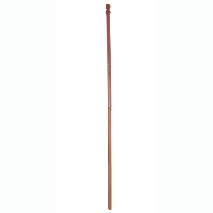 Wooden Flag Pole