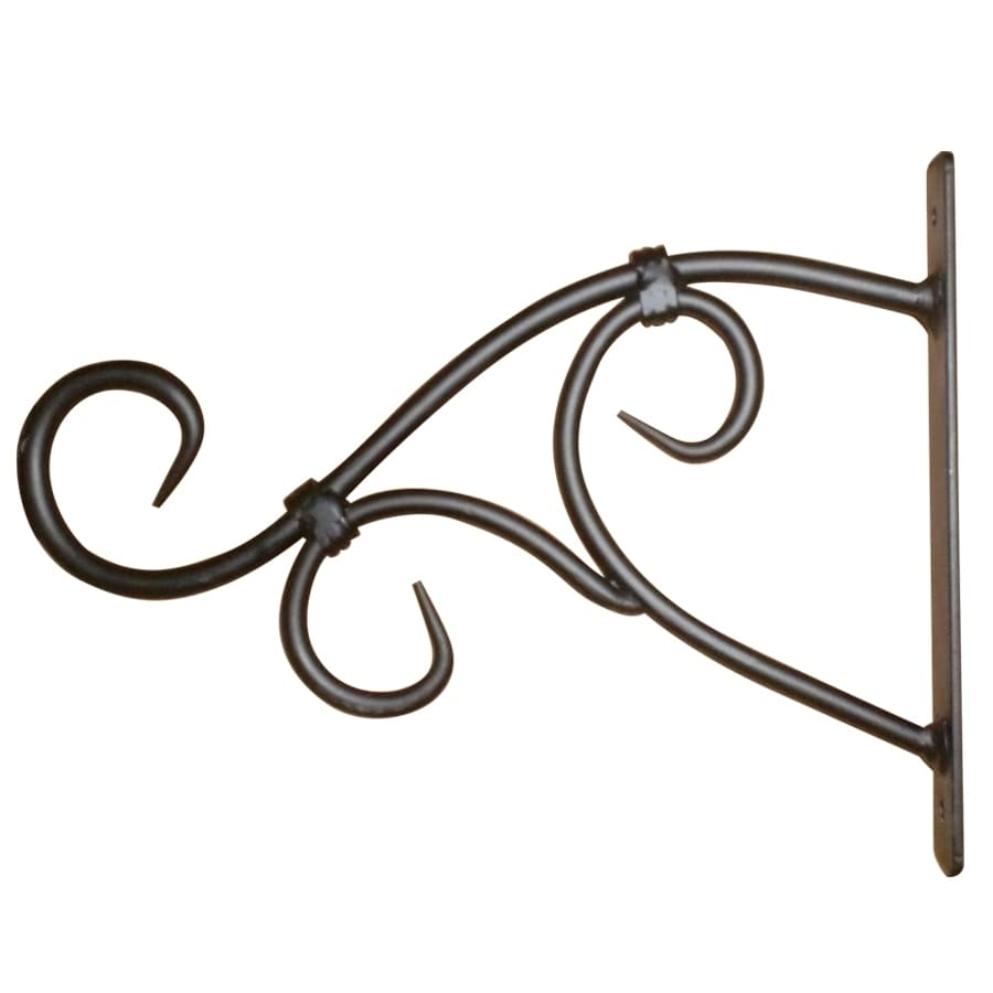 6.88-in Black Plant Hook
