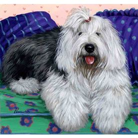 Old English Sheepdog Decorative Banners & Flags at Lowes com