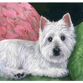 West Highland Terrier Decorative Banners & Flags at Lowes com