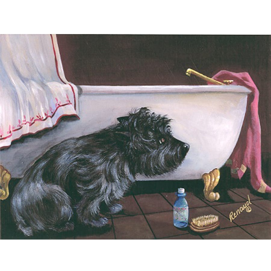 Precious Pet Paintings 3.33-ft x 2.33-ft Cairn Terrier  Flag