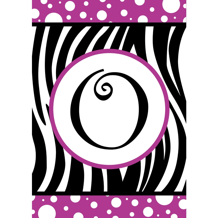 1.5-ft x 1.04-ft O Monogram Flag