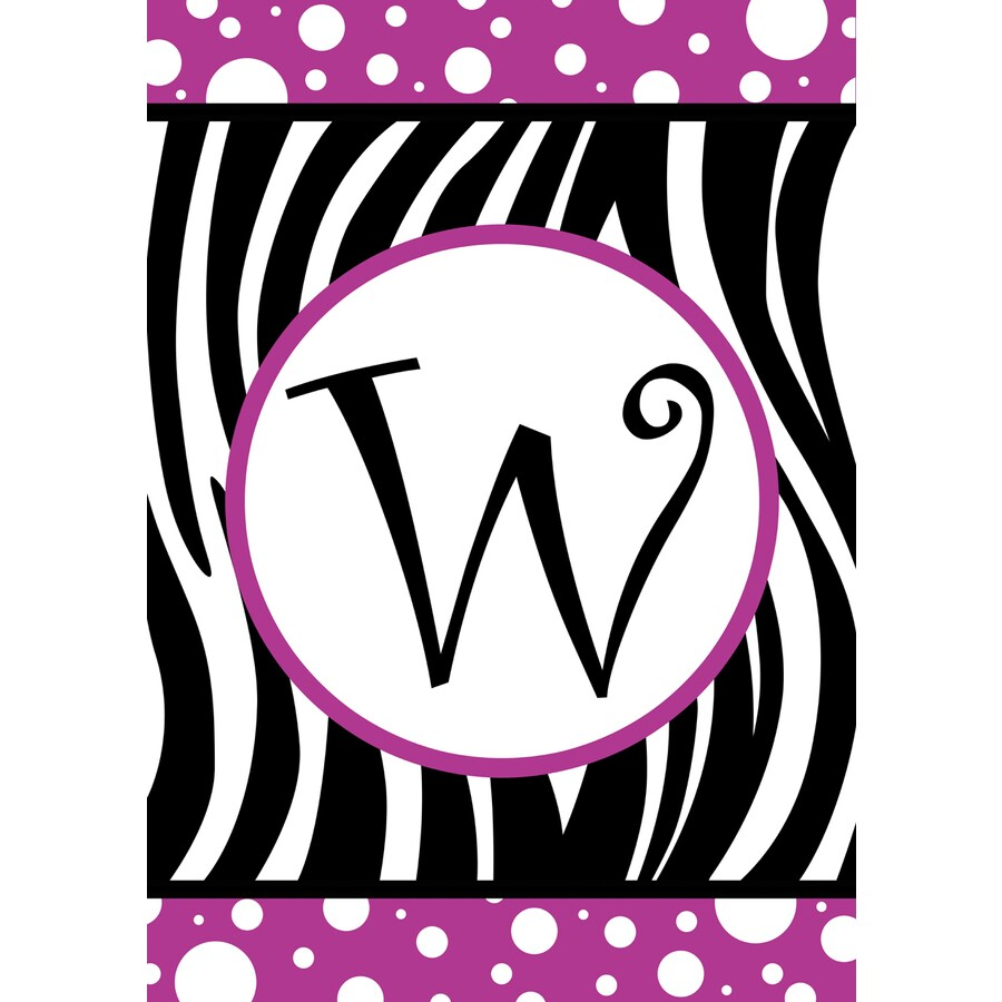 1.5-ft x 1.04-ft W Monogram Flag