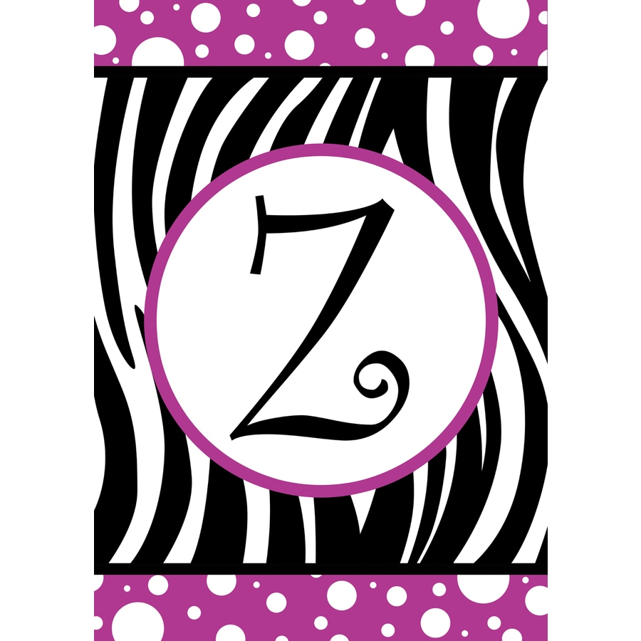 1.5-ft x 1.04-ft Z Monogram Flag