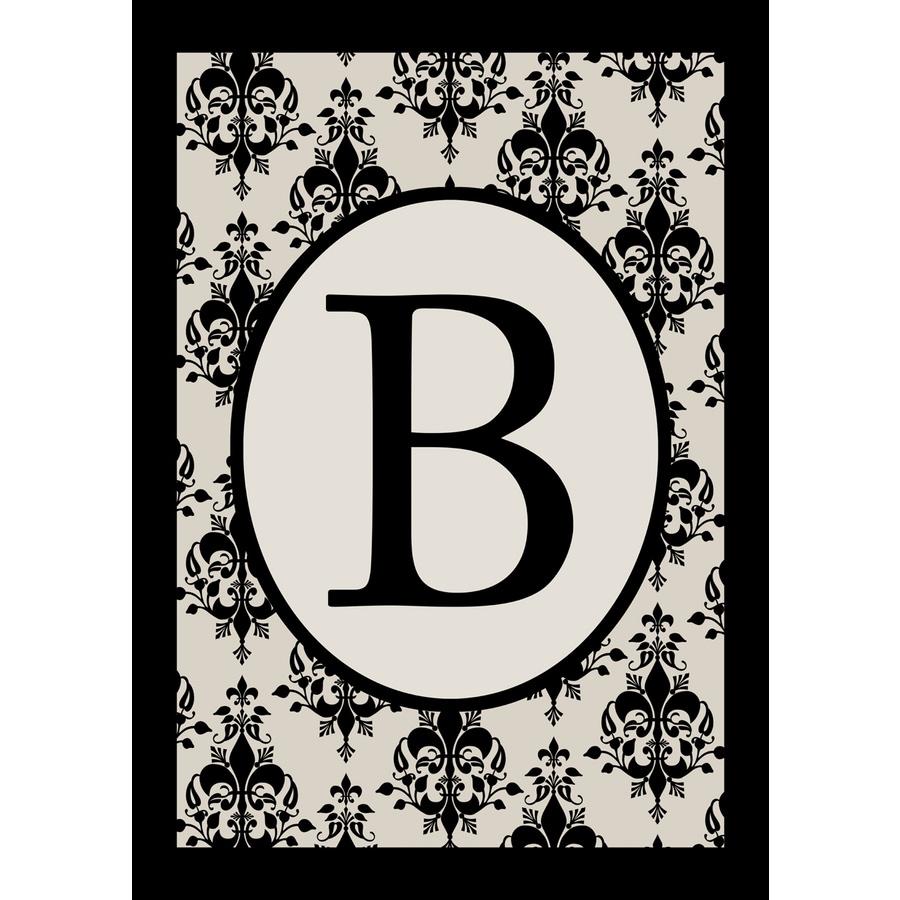 1.5-ft x 1.04-ft B Monogram Flag