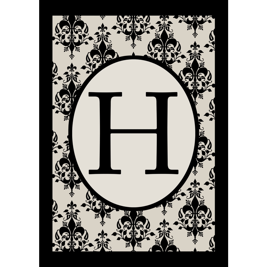 1.5-ft x 1.04-ft H Monogram Flag