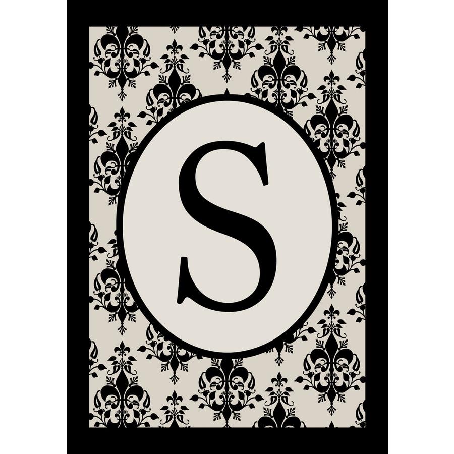 1.5-ft x 1.04-ft S Monogram Flag