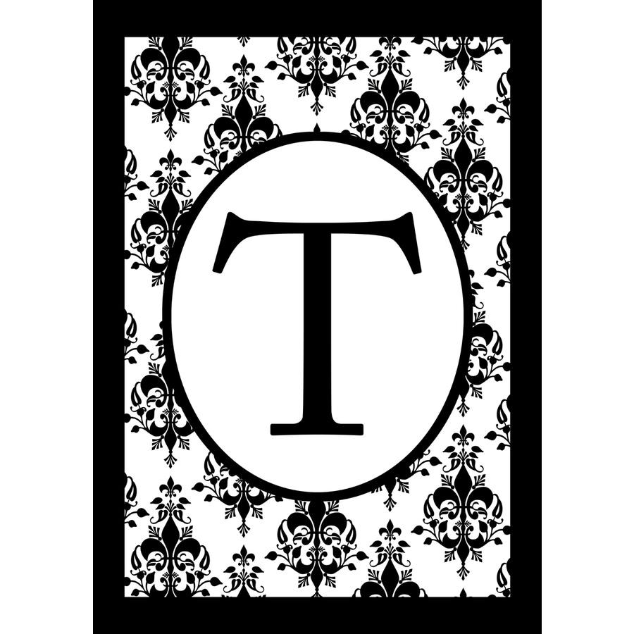 1.5-ft x 1.04-ft T Monogram Flag