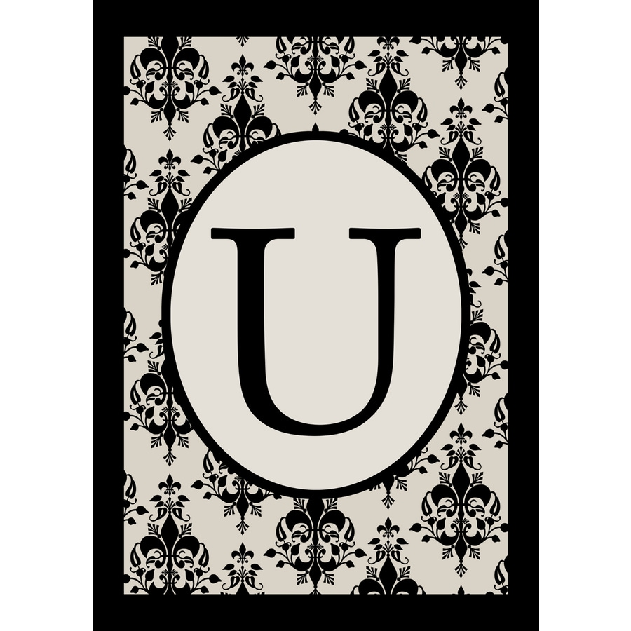 1.5-ft x 1.04-ft U Monogram Flag