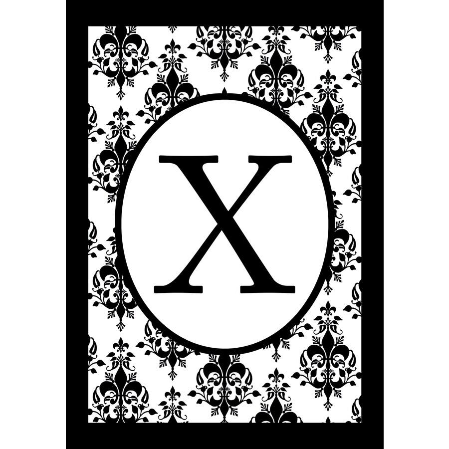 1.5-ft x 1.04-ft X Monogram Flag