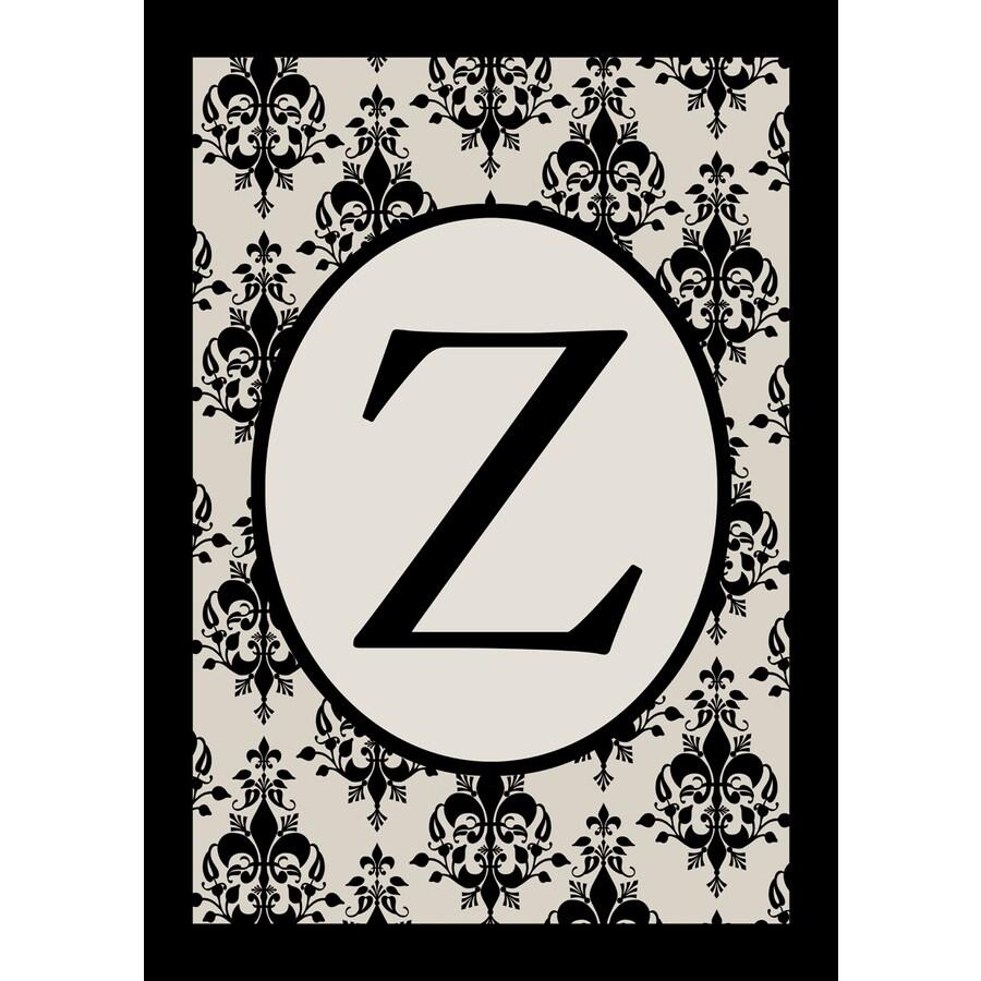 1.5-ft x 1.04-ft Z Monogram Flag