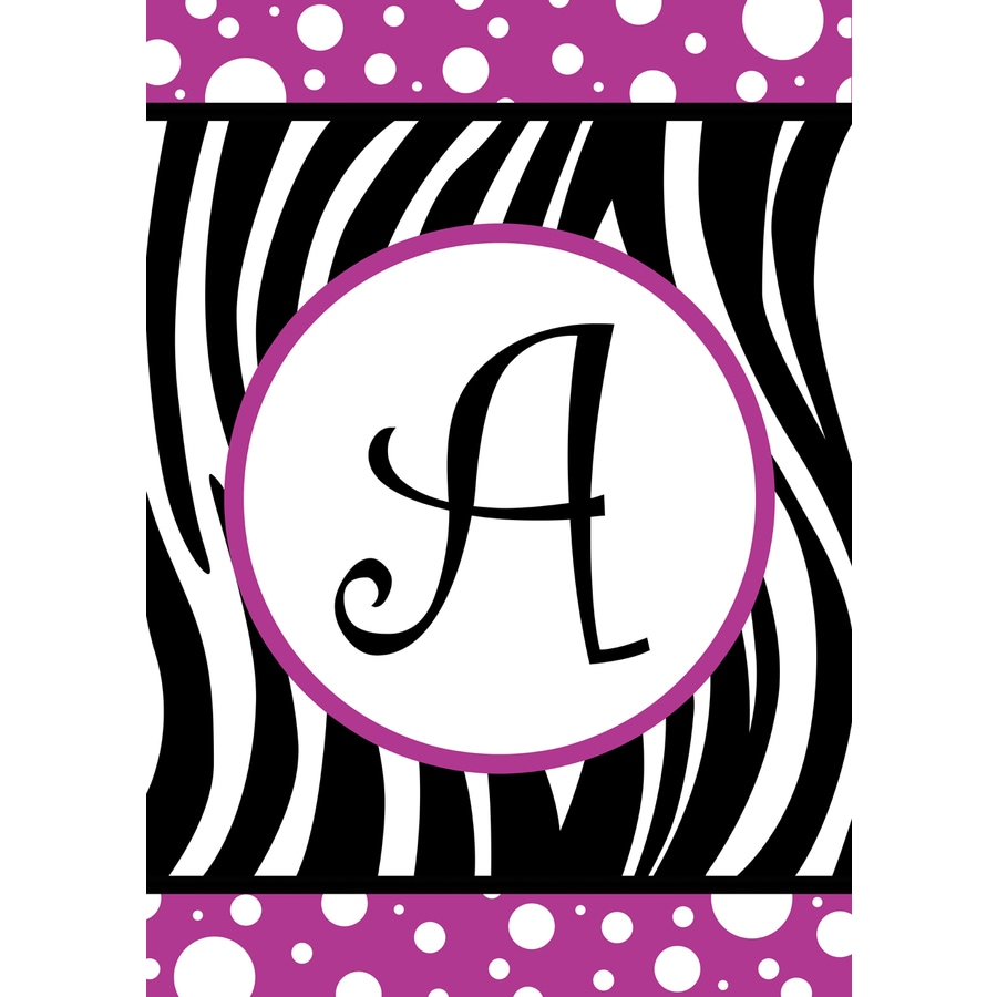 3.33-ft x 2.33-ft A Monogram Flag