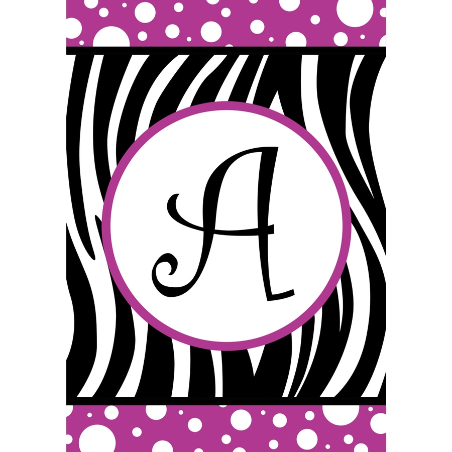 Rain or Shine 1.5-ft x 1.04-ft A Monogram Flag