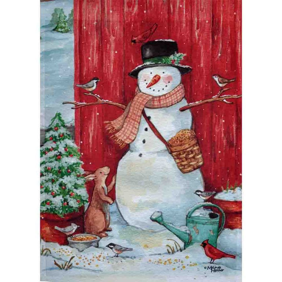 Rain or Shine 2.33-ft W x 3.33-ft H Christmas House Flag