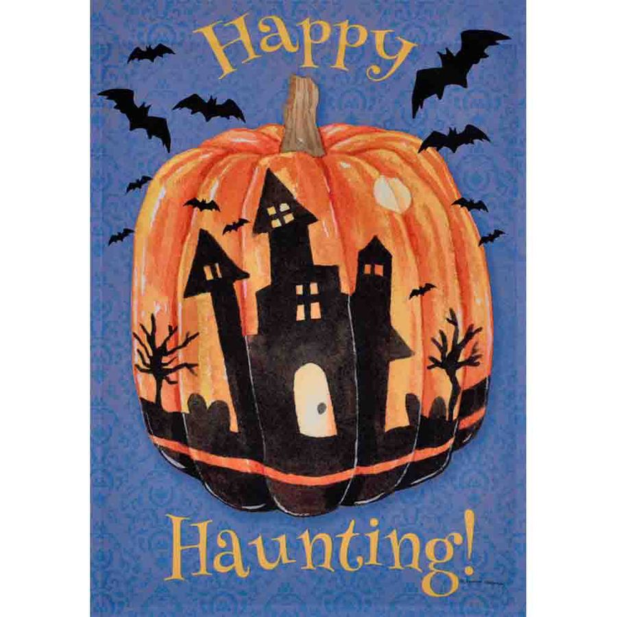 shop rain or shine 1.04-ft w x 1.5-ft h halloween garden flag at