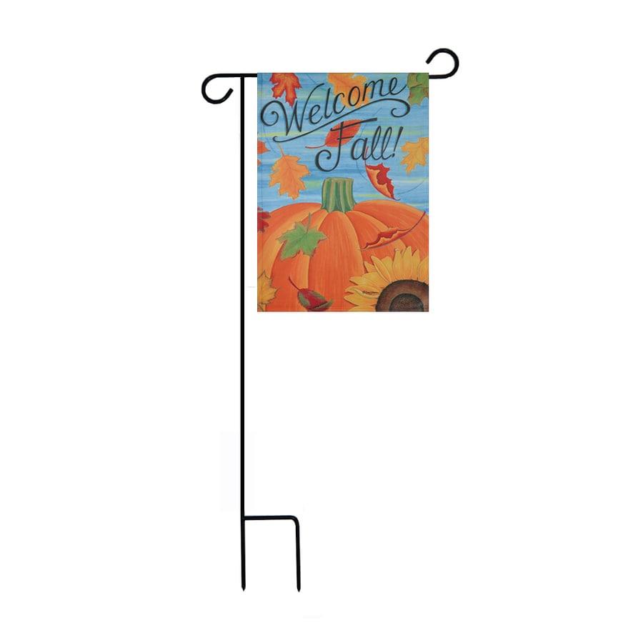 1.48-ft W x 3.17-ft H Fall Garden Flag