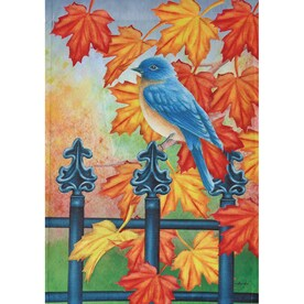 Rain Or Shine 1.04 Ft W X 1.5 Ft H Birds Garden Flag