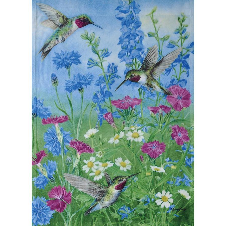 Shop Rain or Shine Hummingbird Trio Garden Flag at Lowes.com