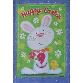 b8931895bd4 Rain or Shine 2.33-ft W x 3.33-ft H Easter House Flag