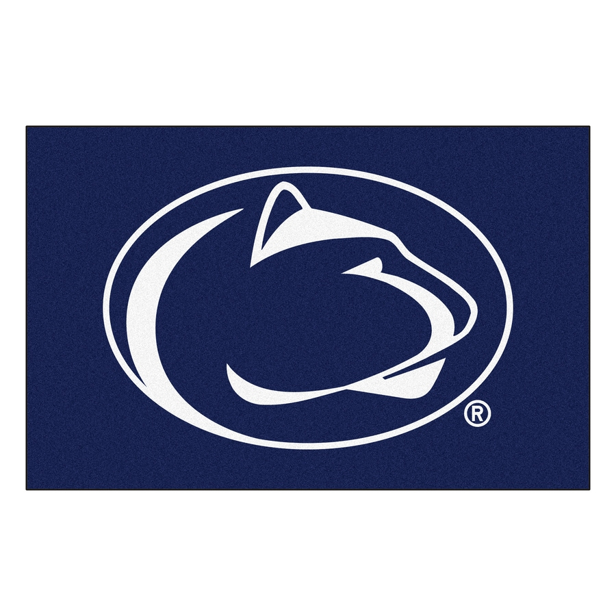 FANMATS Penn State Multicolor Rectangular Indoor Machine-Made Sports Throw Rug (Common: 1-1/2 x 2-1/2; Actual: 19-in W x 30-in L x 0-ft Dia)