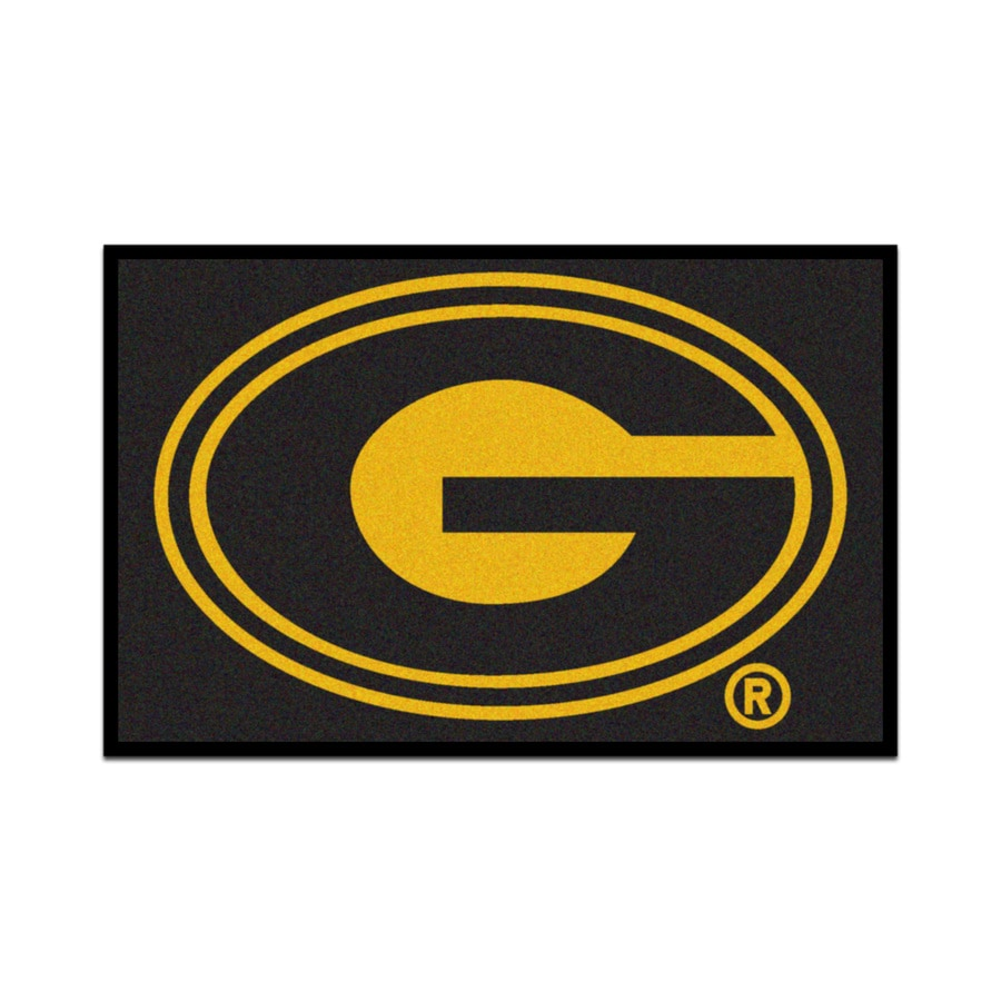 FANMATS Grambling State University Multicolor Rectangular Indoor Machine-Made Sports Throw Rug (Common: 1-1/2 x 2-1/2; Actual: 19-in W x 30-in L x 0-ft Dia)