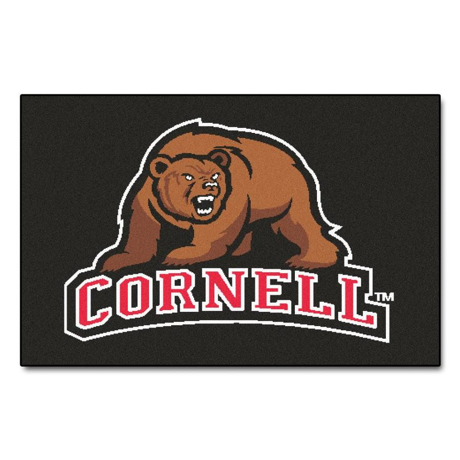 FANMATS Cornell University Multicolor Rectangular Indoor Machine-Made Sports Throw Rug (Common: 1-1/2 x 2-1/2; Actual: 19-ft W x 30-ft L)