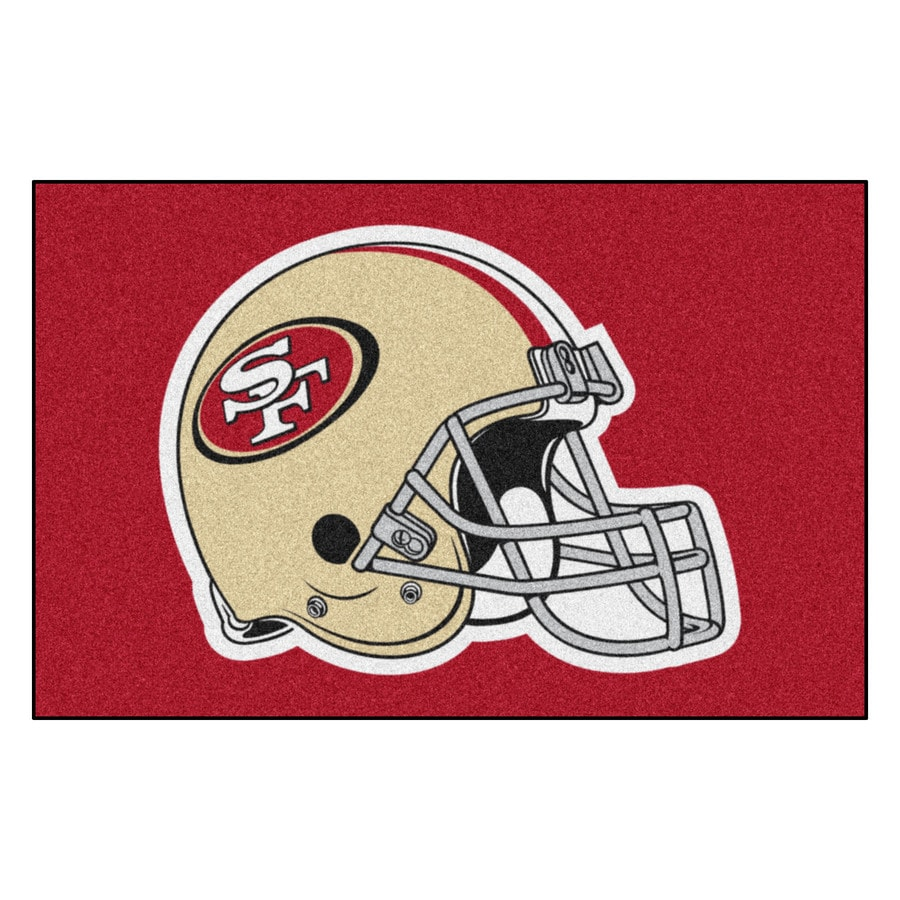 FANMATS Multicolor Rectangular Indoor Machine-Made Sports Throw Rug (Common: 1-1/2 x 2-1/2; Actual: 19-ft W x 30-ft L)