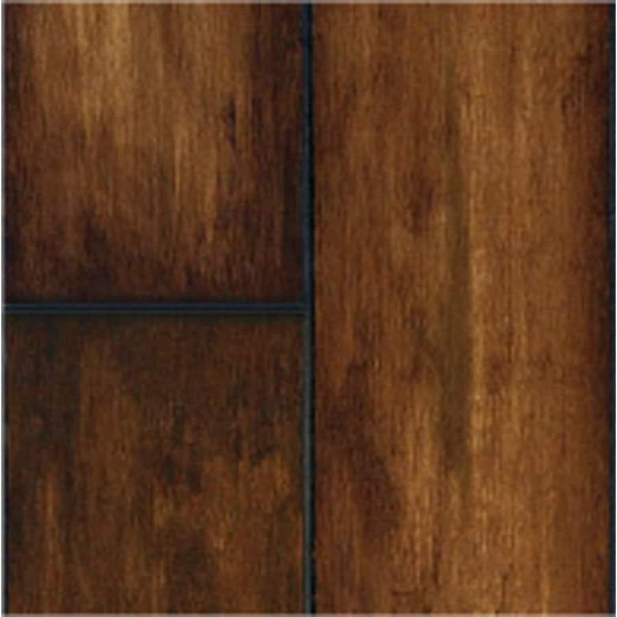 SwiftLock Plus Laminate 5-7/8-in W x 51-3/8-in L Hand Hewn Maple- Butterscotch Laminate Flooring