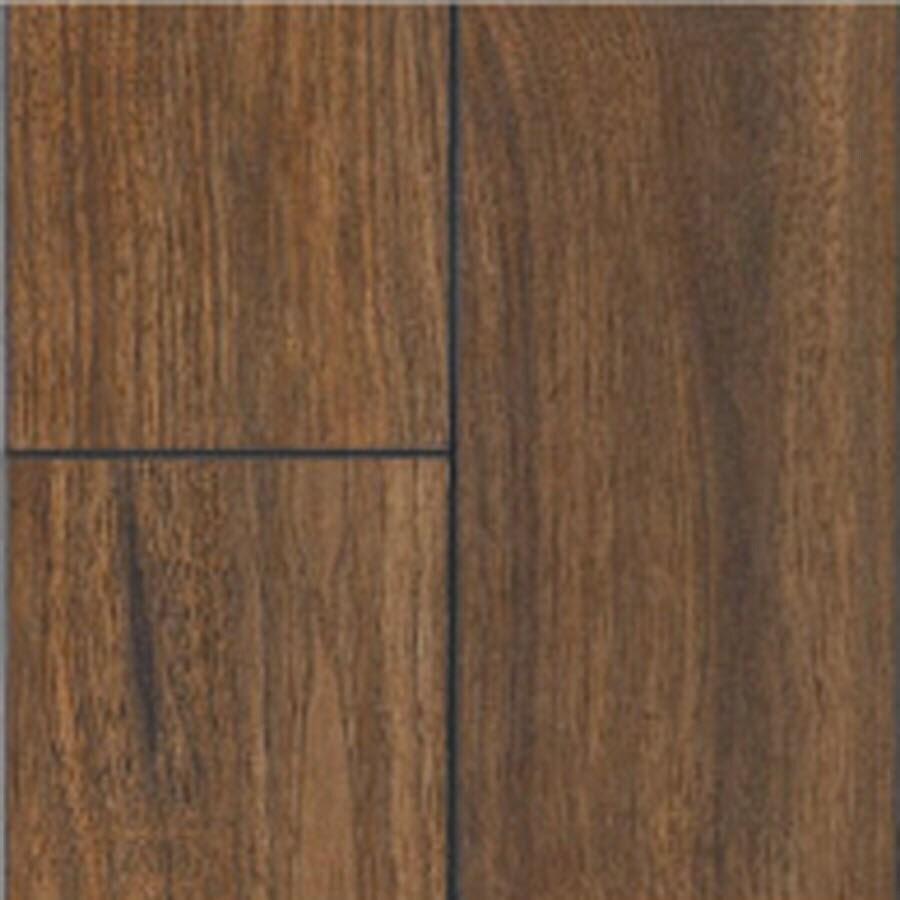 SwiftLock Plus Laminate 5-7/8-in W x 51-3/8-in L Hand Hewn Walnut- Mocha Laminate Flooring