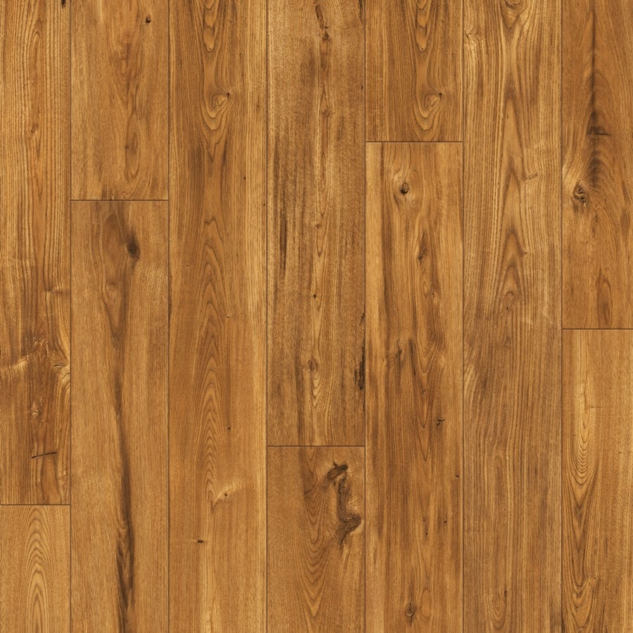 Shop swiftlock laminate smooth chestnut wood planks sample for Wood flooring sale