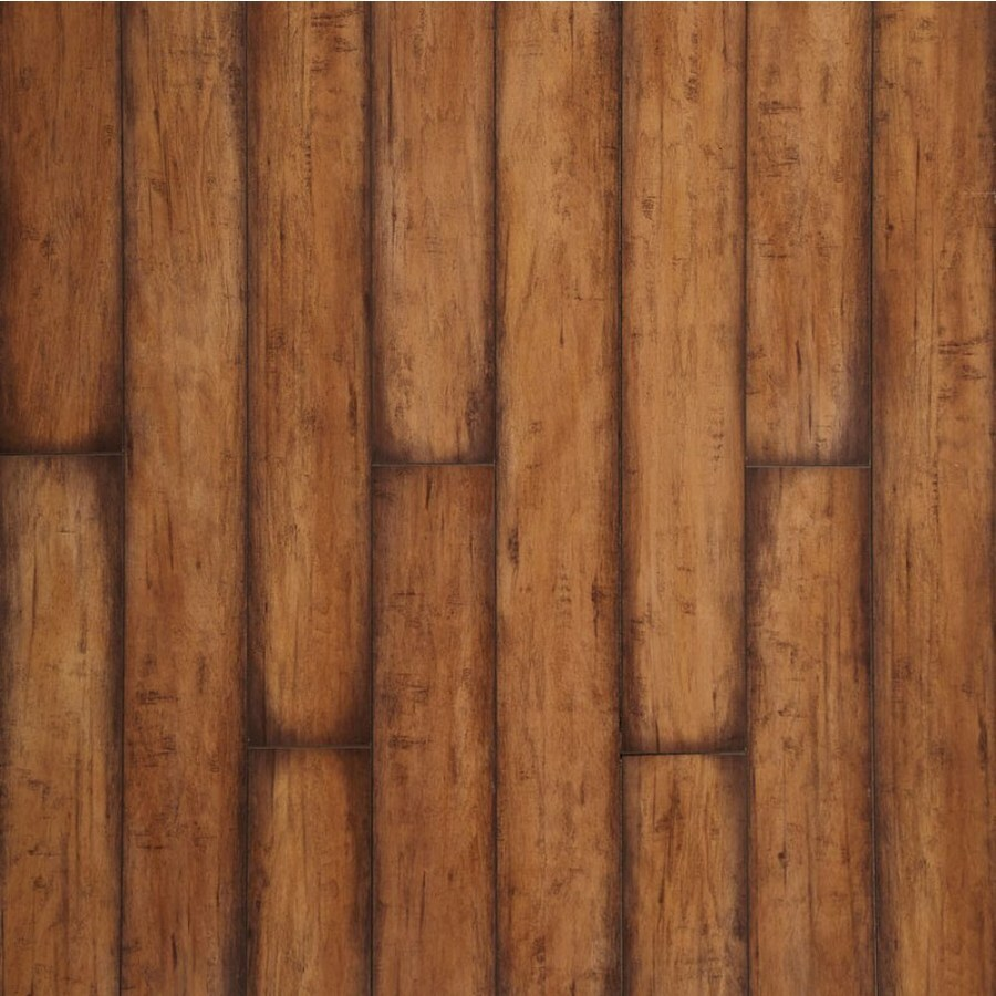 allen + roth Burnished Autumn Maple Wood Planks Laminate Flooring Sample