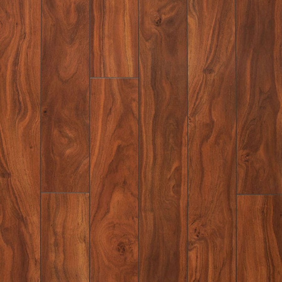 Style Selections 4 92 In W X 3 97 Ft L Jatoba Wood Plank Laminate Flooring
