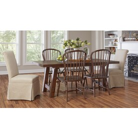 Shop Allen Roth Toasted Butternut 7 96 In W X 3 97 Ft L