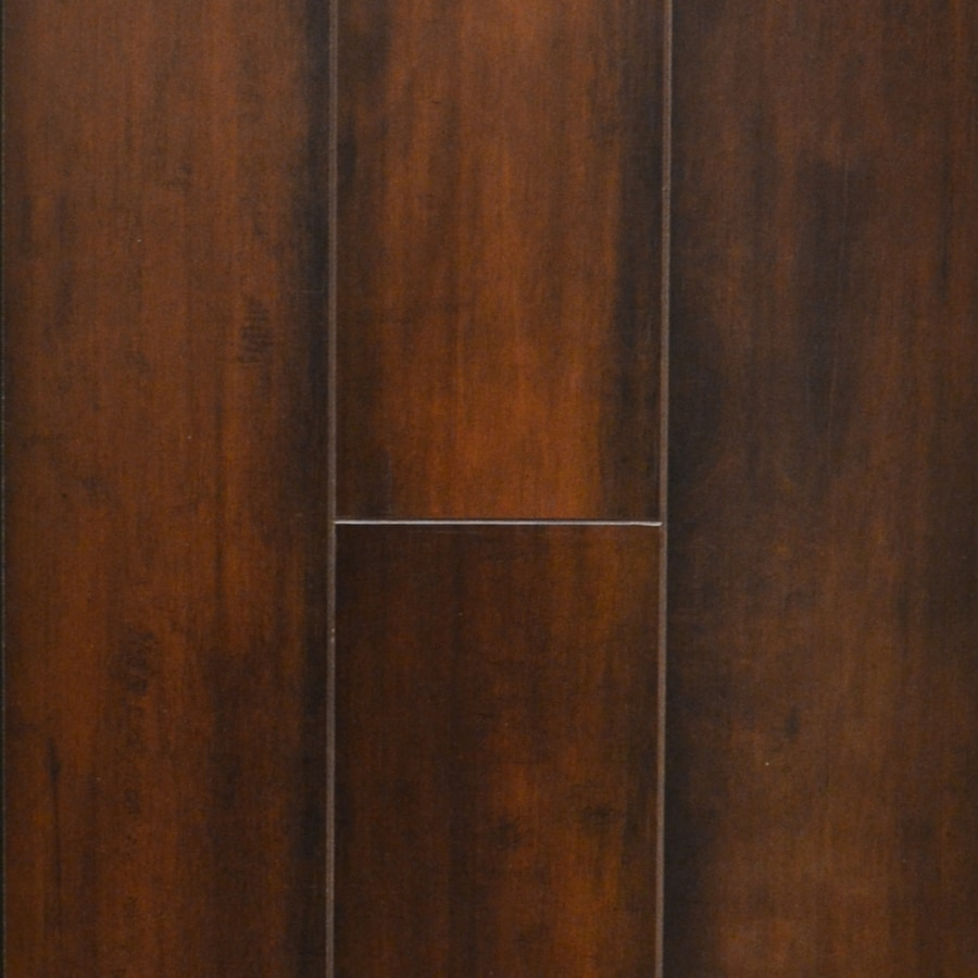 allen + roth Cafe Wood Planks Laminate Flooring Sample