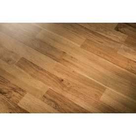 Style Selections Ginger Hickory 8 05 In W X 3 97 Ft L