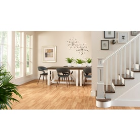 Shop Style Selections Ginger Hickory 8 05 In W X 3 97 Ft L