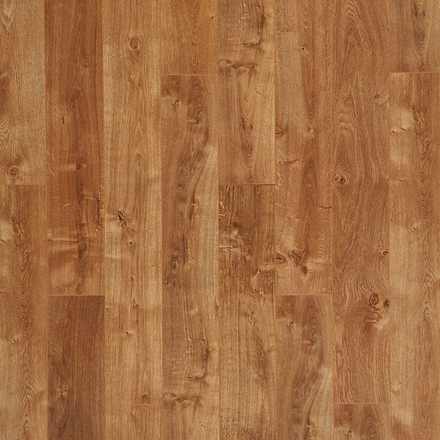 Style Selections 6 14 In W X 3 96 Ft L Autumn Oak Wood