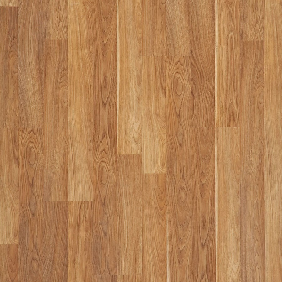 Shop style selections truffle hickory wood planks laminate for Laminate floor panels