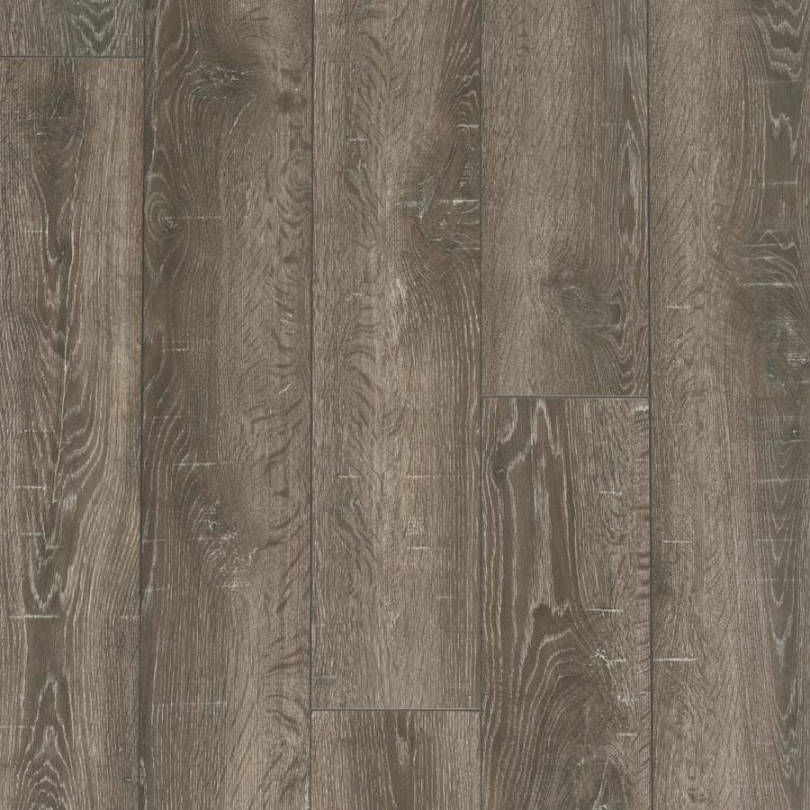 Allen Roth Park Lodge Oak 6 14 In W X 3 96 Ft L Embossed