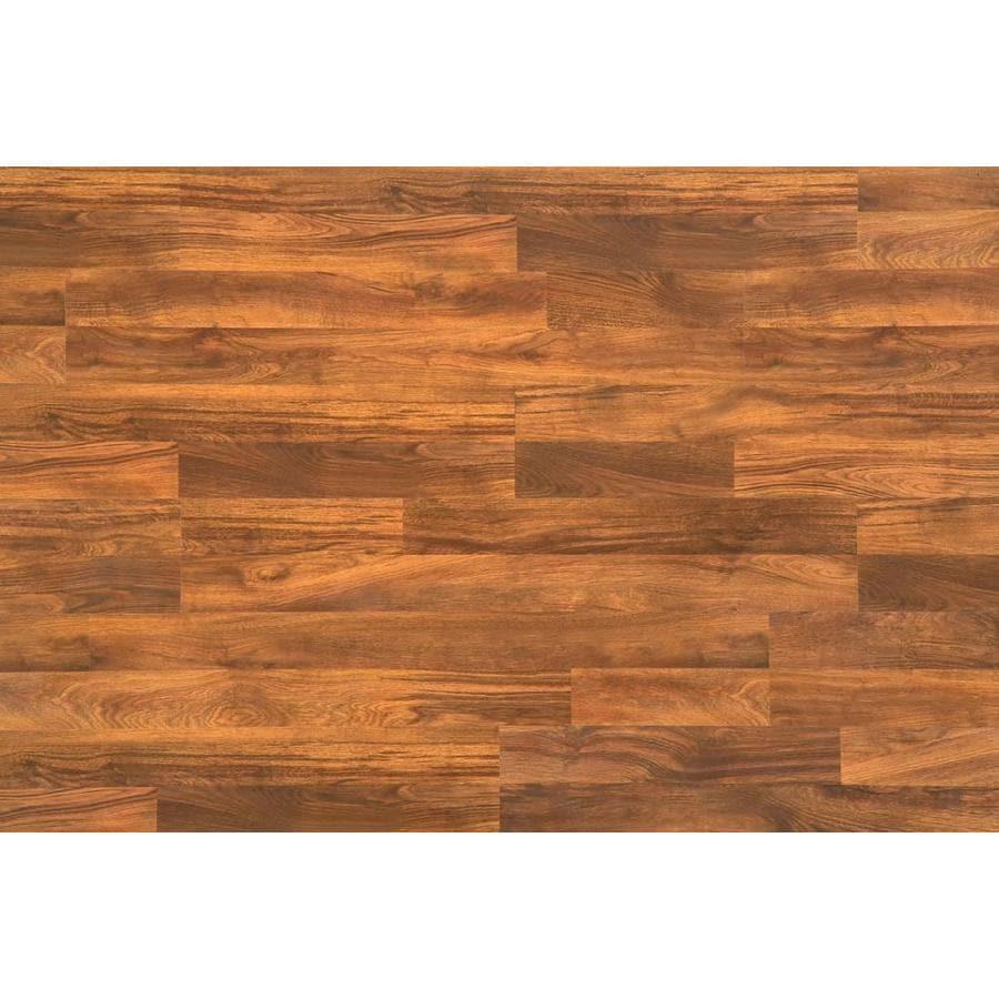 Style Selections Auburn Stained White Oak Wood Planks Laminate Sample