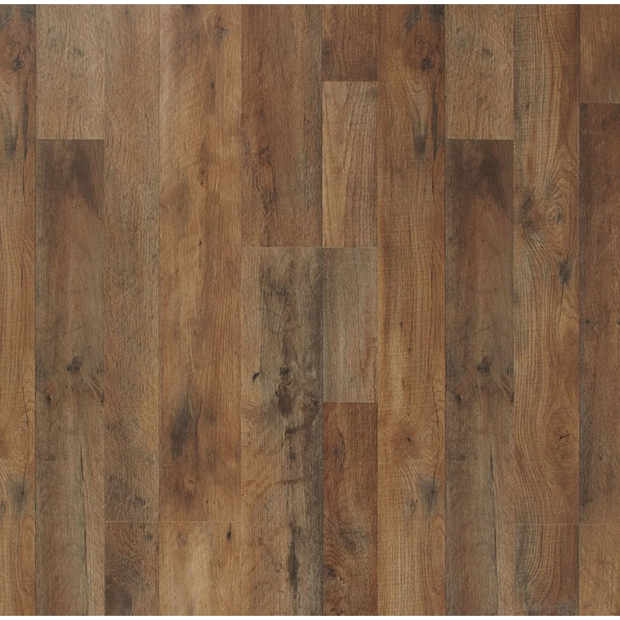 American Heritage Florian Oak 8 03 In W X 3 96 Ft L Embossed Wood