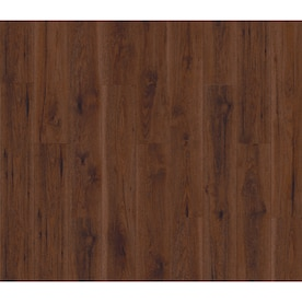American Heritage Rhinebeck Hickory 8.03-in W x 4.025-ft L Embossed Wood Plank Laminate Flooring