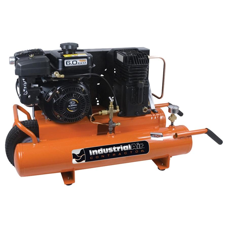 Industrial Air Industrial Air Contractor 8-Gallon Portable Gas Horizontal Air Compressor
