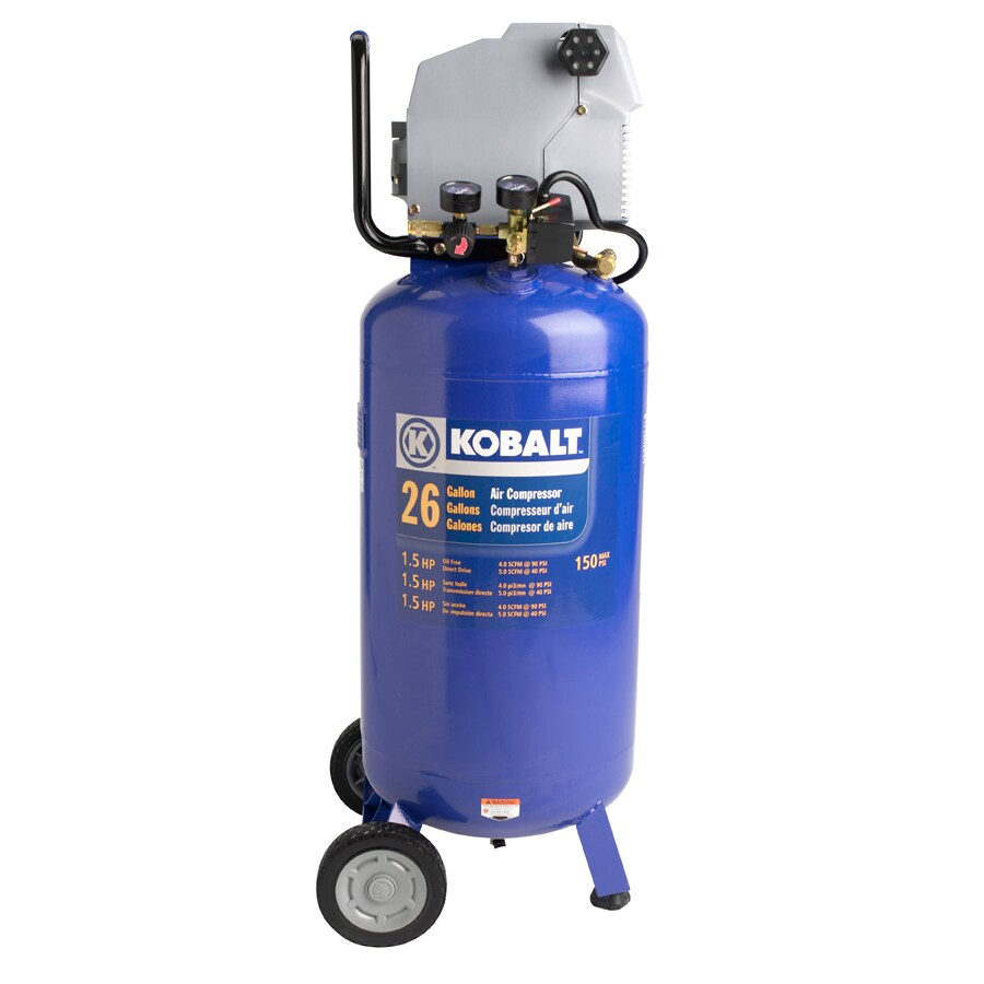 Kobalt 1.5-HP (Peak), 26-Gallon Air Compressor