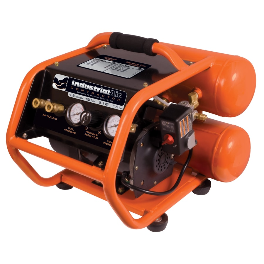 Industrial Air 4.5-Gallon 150-PSI Electric Air Compressor