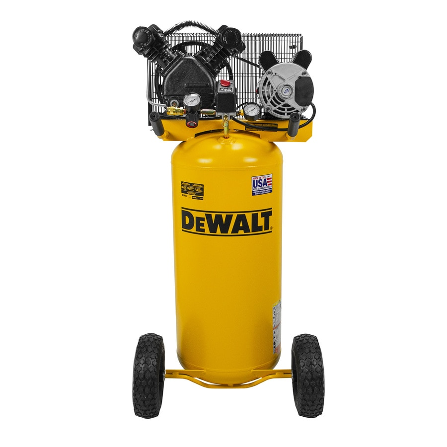 DEWALT 20-Gallon Portable Electric Vertical Air Compressor