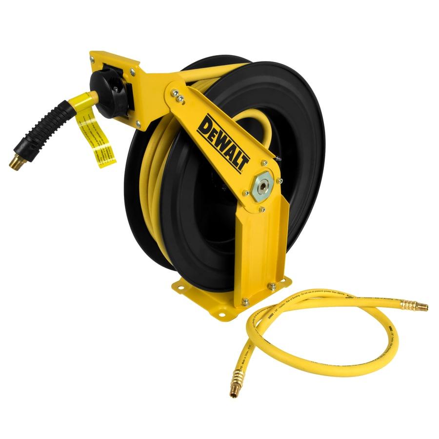 Dewalt 25 ft Hybrid Rubber Air Compressor 3//8 in Pneumatic Hose Flexible Tool