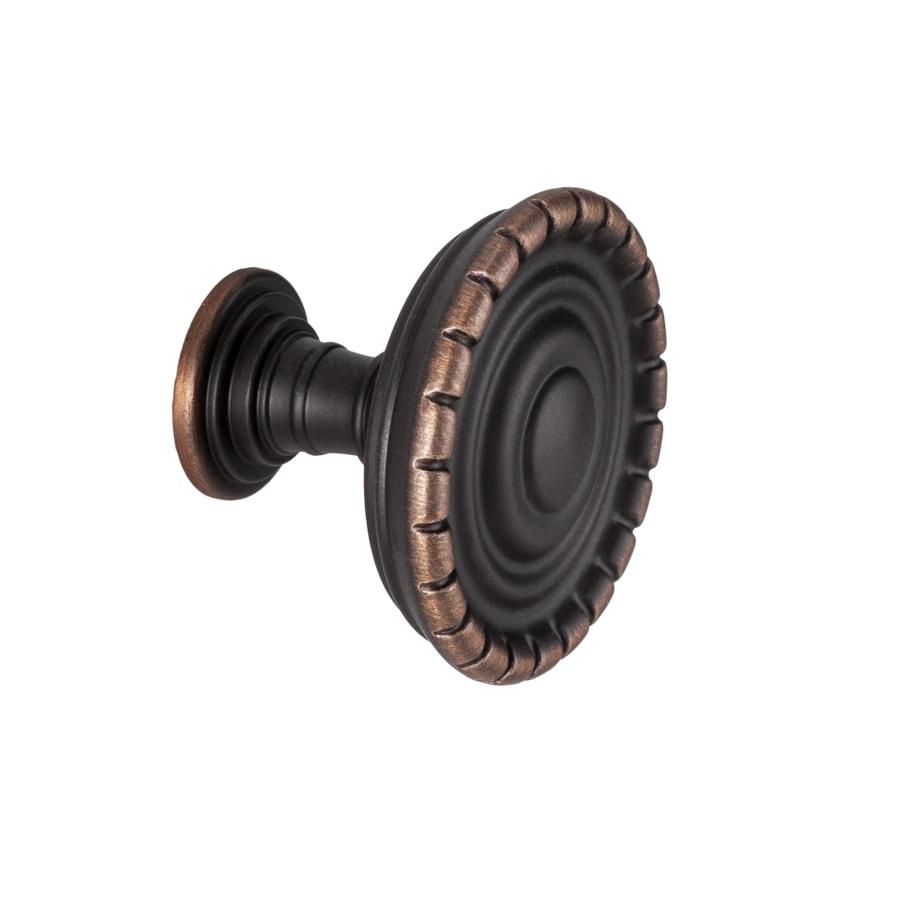 Sumner Street Charlotte Oil-Rubbed Bronze Round Cabinet Knob