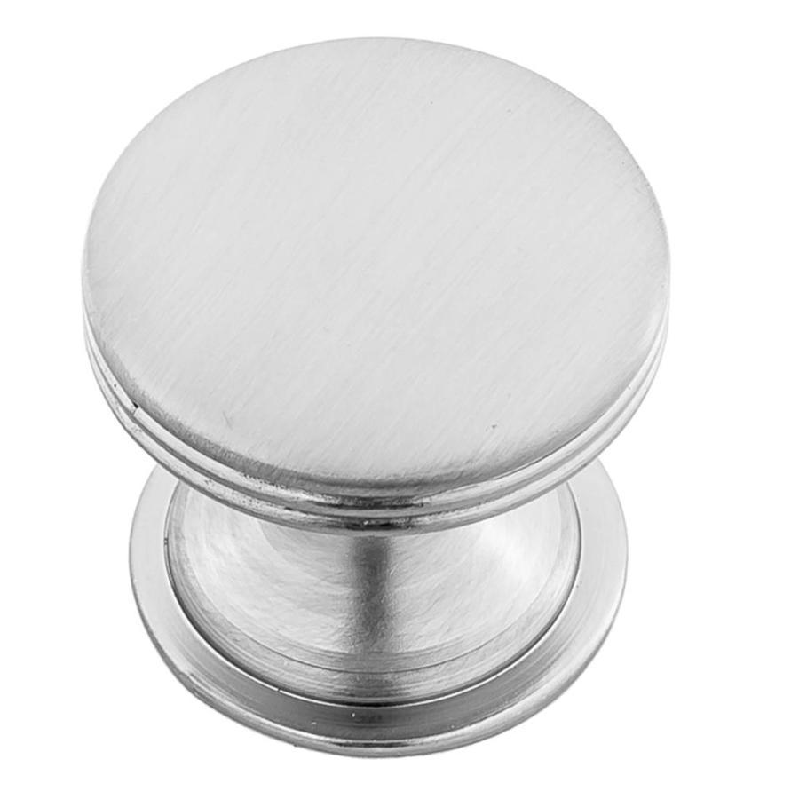 Continental Home Hardware Elon Satin Nickel Round Cabinet Knob